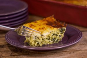Recipe adapted from Rachel Ray's spaghetti squash and ricotta